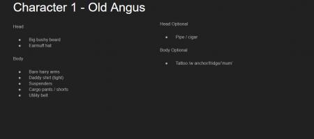 Personalia Angus pt. 2