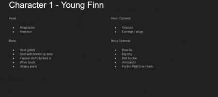 Personalia Finn pt. 2